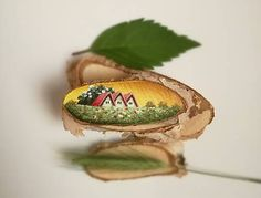 MS_art / Inšpirované prírodou - tri domčeky Ms, Fruit, Food, Meal, The Fruit, Eten, Meals