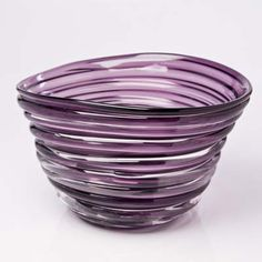 Stunning Carrol Boyes glass vase in whirlwind design for around R1700.