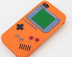 Funda Para Iphone Silicona Game Boy - http://regalosoutletonline.com/tienda/el/funda-para-iphone-silicona-game-boy