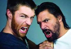 Liam and Manu
