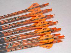 1 Docena Gold Tip Expedition Hunter 300 Carbono Custom Flechas w/blazers! in Artículos deportivos, Deportes al aire libre, Arquería | eBay