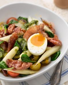 Good Food, Yummy Food, Asparagus Recipe, Super Healthy Recipes, Soup And Salad, Brunch, Food And Drink, Favorite Recipes, Dishes