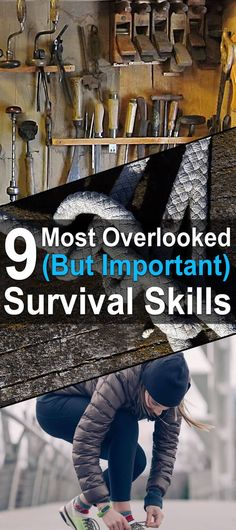 9 Most Overlooked (But Important) Survival Skills. There are many different survival skills that could prove invaluable in a disaster scenario. Some of these skills–such as marksmanship or the ability to preserve food–receive a lot of attention, while others often fly under the radar. #Urbansurvivalsite #Survivalskills #Livingoffthegrid