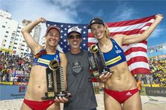 A-Team claims gold at Itapema – Norwegian dominators are back Beach Volleyball, A Team, Bikinis, Swimwear, Christian, Space, Gold, Fashion, Bathing Suits