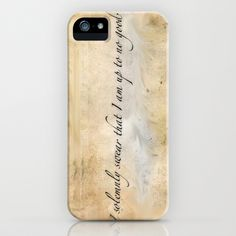 I solemnly swear I am up to no good iPhone & iPod Case by Michela Deck - $35.00