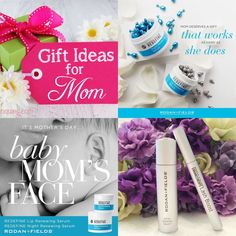 Are you looking for gift ideas for Mother's Day?  Here are a few of my favorites...they help me keep up and ready to tackle what my amazing husband and kids through at me everyday.  Softer, hydrated skin and lips plus long and lush eye lashes. 💜💙💖
