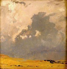 Eugen Felix Prosper Bracht: Gathering Storm