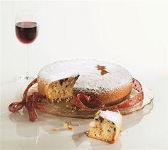 Βασιλόπιτα με σοκολάτα, σύκα και κάστανα Camembert Cheese, Caramel, Cake, Christmas, Recipes, Food, Sticky Toffee, Xmas, Candy