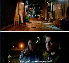 The Flash vs Arrow crossover