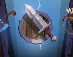 """Check out this @Behance project: """"Heroes Curse, UI"""" https://www.behance.net/gallery/25359529/Heroes-Curse-UI"""