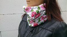 KajDom / Šatka zateplená-ruže Handmade, Hand Made, Handarbeit