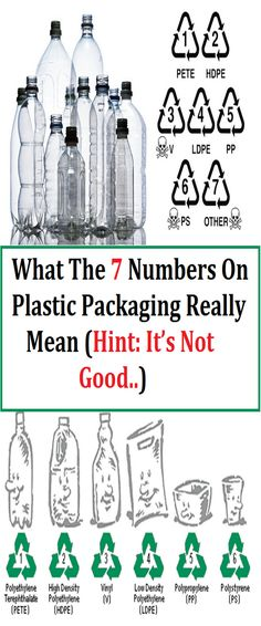 What The 7 Numbers On Plastic Packaging Really Mean (Hint: It's Not Good..)