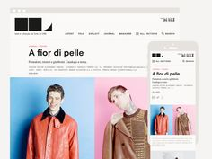 IL Magazine website - Projects by A.A. Trabucco Campos