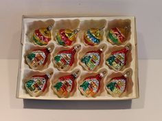 Vintage German Made Christmas Ornaments Mercury by FunkieFrocks Glass Christmas Balls, Christmas Ornaments To Make, Vintage Christmas, Thing 1, Frocks, Mercury, Gingerbread, No Response, German