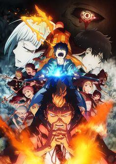 Segunda imagen promocional oficial del Anime Ao no Exorcist: Kyoto Fujou Ou-hen.