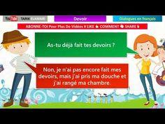 35 MIN dialogues en français (Répété 3 fois) - حوارات باللغةالفرنسية - YouTube France, Family Guy, Youtube, Character, Learn French, Spanish English, Beach Ball, Exercise, Youtubers