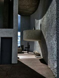 Chapelle de Ronchamp, le Corbusier