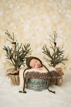 Baby Boy in Christmas set-up Melissa DeVoe Photography Raleigh Baby Photographer http://melissadevoephotography.com