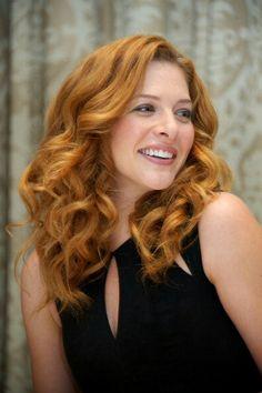 Copper hair - Rachelle Lefevre