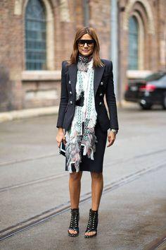Christine Centenera, Australian Fashion Week Fall Street Style - Harper's BAZAAR