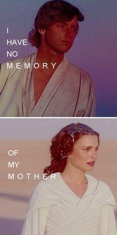 I never knew her. #starwars