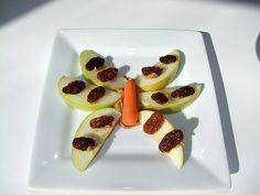 Apple Butterfly Snack Recipe For Kids from Kiboomu