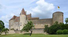 Château de Châteauneuf-en-Auxois ~ Burgundy ~ France
