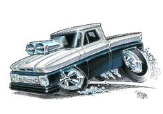 Custom Painting of 1 Car