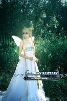 Sailor Moon Princess Serenity Cosplay Costume Dress White Lolita MADETORDE