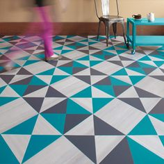 Mannington Commercial- Amtico Collection luxury vinyl tile pattern   #creative #LVT #patternfloor