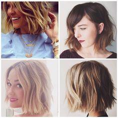 lauren conrad, choppy, short hair, bob, hairstyle, hair trends, beach waves