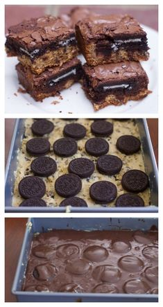 desserts for a crowd slutty brownies is the perfect potluck dessert. Made with … desserts for a crowd slutty brownies is the perfect potluck dessert. Made with a brownie box mix and a cookie dough mix Brownie Cookies, Cookie Dough Cake, Brownie Desserts, Chocolate Chip Cookie Dough, Chocolate Chips, Cake Cookies, Desserts With Cookie Dough, Brownies With Cookie Dough, Box Brownie Recipes