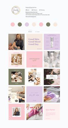 15 GRID PLAN (BBG) Instagram Feed Layout, Instagram Design, Instagram Posts, Social Media Branding, Social Media Design, Feed Insta, Web Design Projects, No Photoshop, Creative Portraits