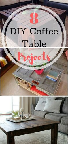 DIY Coffee Table Projects, Coffee Table DIY Projects, DIY Home Decor, DIY Home Furniture, Furniture for The Home, Easy Furniture for the Home, DIY Projects, Simple DIY Projects, Fast Home DIYs, Fast Home Furniture Projects, How to Refinish Furniture, Popular