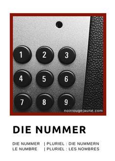 die Nummer | le numéro