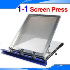 1 color 1 Station Silk Screen Printing T Shirt Press