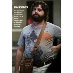 The Hangover Movie One Man Wolf Pack 8.5-by-11-Inch Print