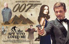 Bond movie poster.