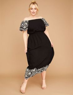 16 The Best Dresses for Plus Size Apple Shapes images | Nice ...