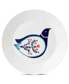 Royal Doulton Dinnerware, Fable Accent Plate Bird
