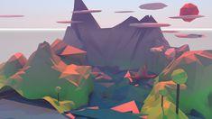 Low - Poly sea by LowWater