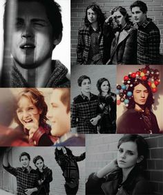 Logan Lerman, Emma Watson and Ezra Miller photographed by Guy Aroch for Nylon, October 2012