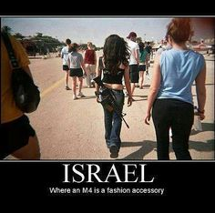 So young adults carry automatic weapons and Israel has no mass shootings. Yet in America.there are those who want to blame the weapon for the crimes. Idf Women, Military Humor, Military Service, Conservative Politics, Badass Women, Signs, Thought Provoking, I Laughed, Luigi