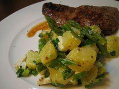 Soppakellari: Kotiinpaluu ja vihreä parsa-perunasalaatti