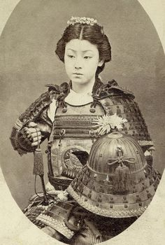 "Onna-bugeisha (女武芸者?) was a type of female warrior belonging to the Japanese upper class. Many wives, widows, daughters, and rebels answered the call of duty by engaging in battle, commonly alongside samurai men. They were members of the bushi (samurai) class in feudal Japan and were trained in the use of weapons to protect their household, family, and honour in times of war. They also represented a divergence from the traditional ""housewife"" role of the Japanese woman."