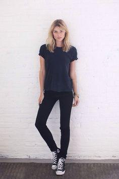 New black for black