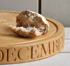Personalised & Hand Engraved Round Serving Board by The Oak and Rope Company Kitchen Dining, Dining Room, Serving Board, Hand Engraving, Boards, Desserts, Food, Planks, Tailgate Desserts