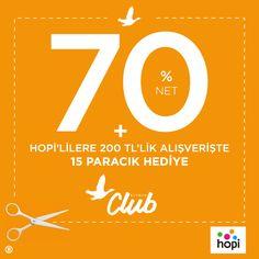 ANKAmall Beymen Club'da Net %70 + Hopi'lilere 200 TL'lik alışverişe 15 paracık hediye...  Beymen Club, #ANKAmall 1. Katta.