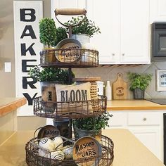 Rustic Farmhouse Kitchen rustic gallery wall inspiration for the kitchen | rustic gallery