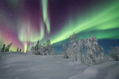 Photo Aurora over the Shield in Yellowknife by Adam Hill on 500px